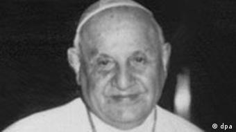 Papst Johannes XXIII. im Jahr 1961.