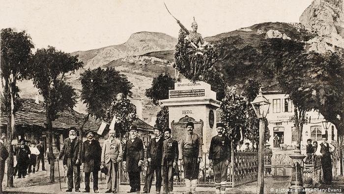1910 година: паметникът на Ботев във Враца