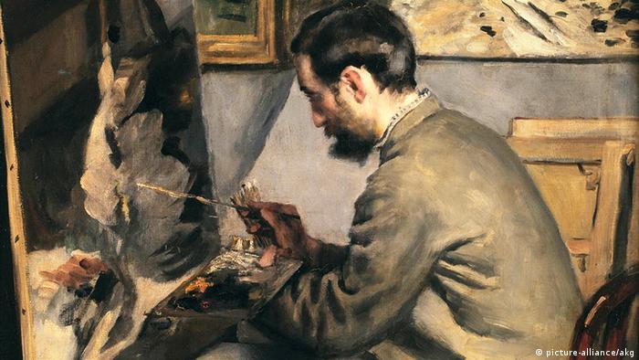 Фредерик Базил, нарисуван от Пиер-Огюст Реноар
