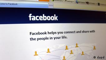 Picture of a Facebook login page.