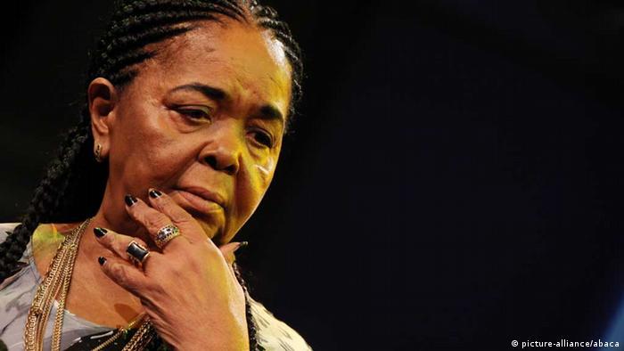 Cesária Évora, cantora caboverdeana