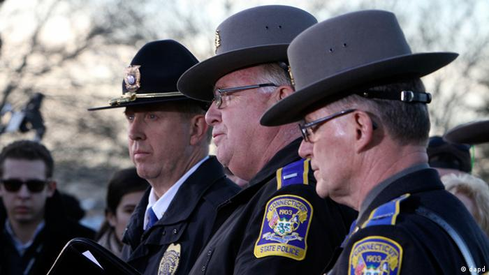 Connecticut State Police Lt. J. Paul Vance speaks at a news conference on the shooting at Sandy Hook Elementary school, where a gunman opened fire, killing 26 people, including 20 children (Photo: The Journal News, Frank Becerra Jr./AP/dapd)