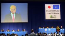 Fukushima Konferenz Yukiya Amano