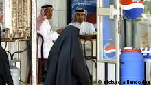 Saudi-Arabien - Strassenszene in Riad