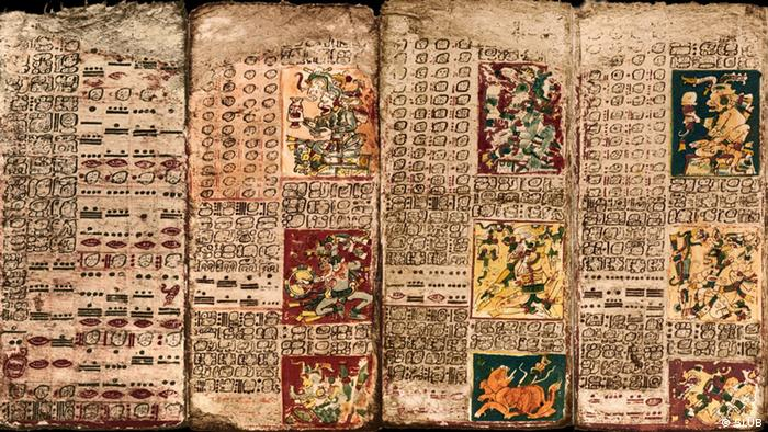 Maya-Codex Dresdensis