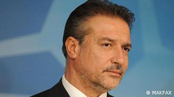 Branko Crvenkovski, SDSM Parteichef, Skopje, Mazedonien
