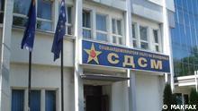 SDSM Parteizentrale, Skopje, Mazedonien