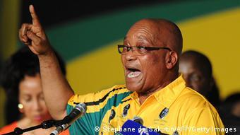 Parteitag des ANC Südafrika Jacob Zuma