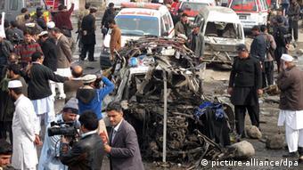 انفجار در جامرود پاکستان دهها کشته و مجروح در پی داشت