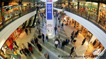 Swedish shopping mall