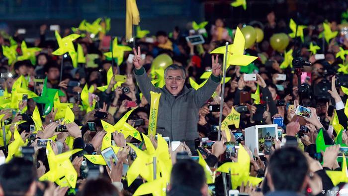 Präsidentschaftswahl Südkorea 2012 (Reuters)