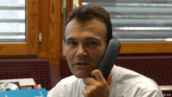 Jean-Philippe Chauzy on the phone