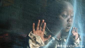 Moskitonetz zum Schutz vor Malaria