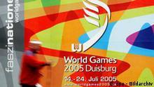 BdT: World Games 2005 Duisburg Plakat