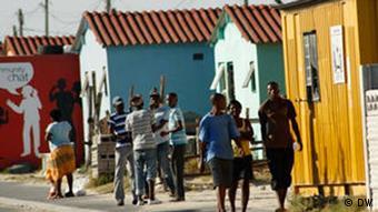 Kapstadt Straßenszene Armut