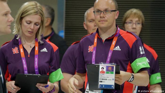 Doping Kontrolleur Olympia Olympische Spiele 2012