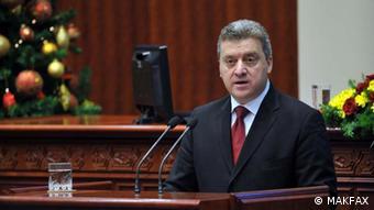 Gorge Ivanov Präsident Mazedonien
