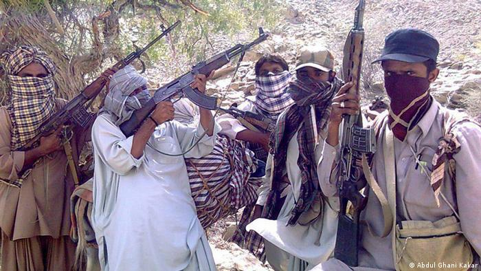 A group of Baloch insurgents (Photo: Abdul Ghani Kakar/DW)