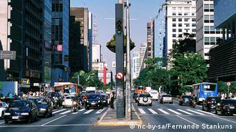 Brasilien Sao Paulo Avenida Paulista