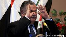 Irak Präsident Dschalal Talabani