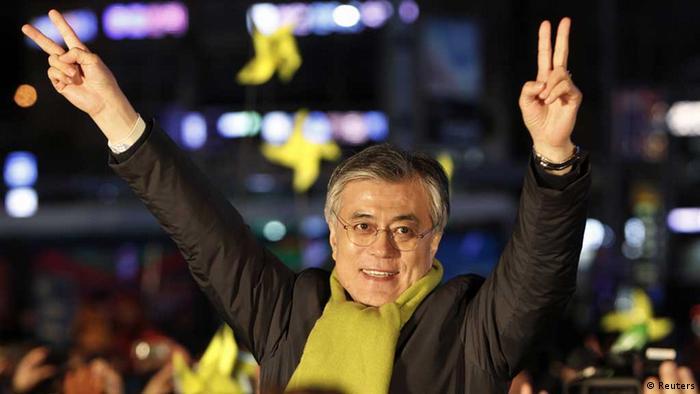 Südkorea / Moon Jae-In / Präsidentenwahl (Reuters)