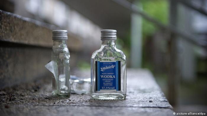 Wodka Flasche Alkohol Schnaps