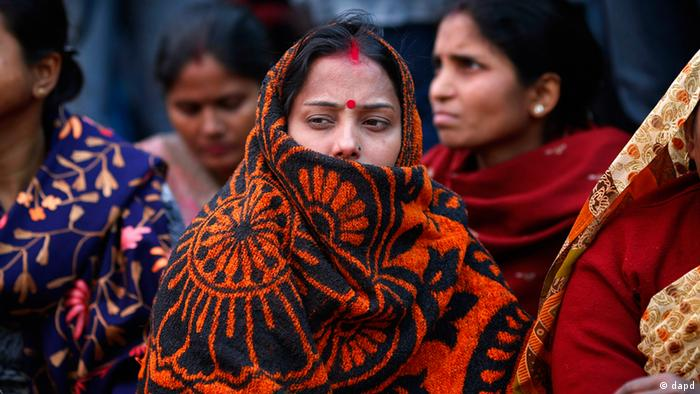 Women supporters of Bharatiya Janata Party (BJP) stage a protest over the gang rape and beating of a young woman in New Delhi, India, Wednesday, Dec. 19, 2012. (Photo: AP)