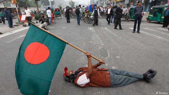 Bangladesch Generalstreik 18.12.2012