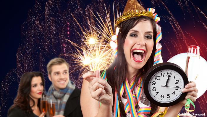 Midnight celebrations (Fotolia/Fotowerk)