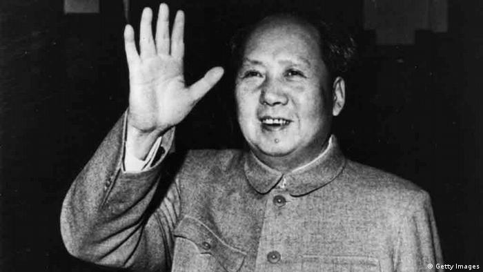 Mao Zedong Mao Tse-tung China 1960 (Getty Images)