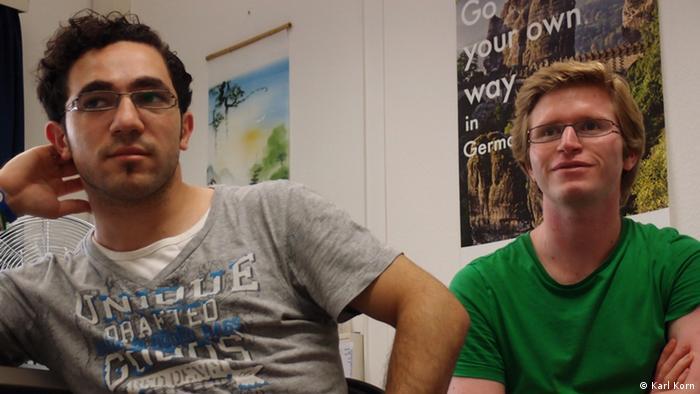 Syrische Studenten in Köln (Karl Korn)