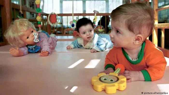 В одном из детских домов Москвы