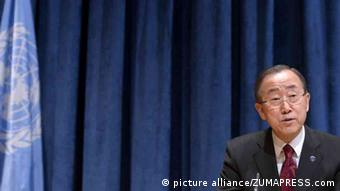 New York UN Sicherheitsrat Ban Ki-Moon