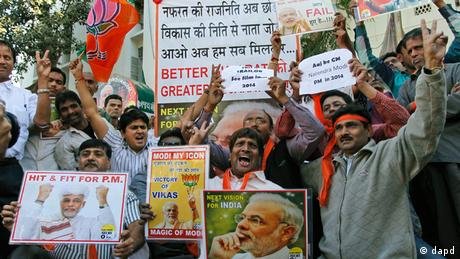 Wahlen in Gujarat Indien