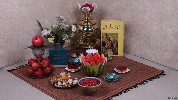 تزئین سفره یلدا، شغل مناسبتی جدید در ایران