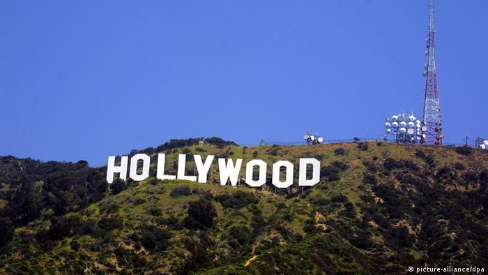 Hollywood Schriftzug in Los Angeles USA