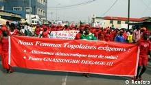 Lomé Frauen Demonstration
