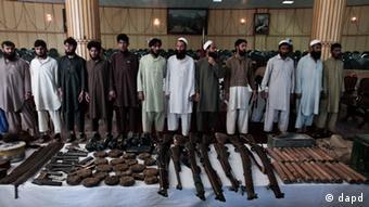 Taliban militants (Rahmat Gul/AP/dapd)