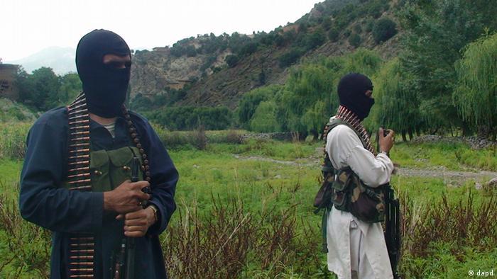 Members of Pakistan's Taliban.