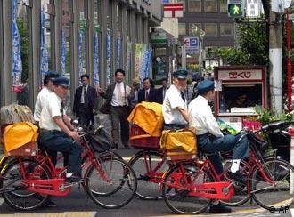 Bei Japans Post arbeiten 280.000 Vollzeit- und 120.000 Teilzeitkräfte