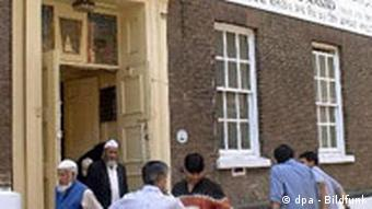 Muslime in London Jamme Masjid Moschee Brick Lane