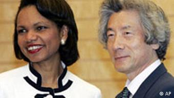 Condoleezza Rice in Japan