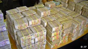 Korruption in größeren Mengen