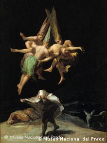 Bildgalerie Goya: Bild 2 Hexenflug