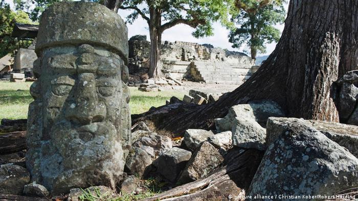 Maya-Stätte Copan Honduras