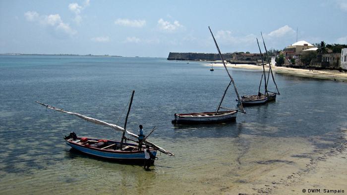Fischerei Mosambikinsel (DW/M. Sampaio)