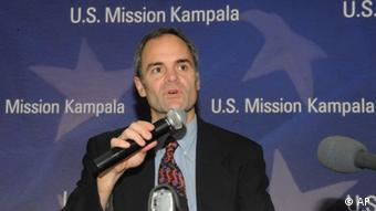 Dr. Scott Dowell at a conference on nodding disease in Uganda's capital Kampala. Photo:Stephen Wandera/AP/dapd)