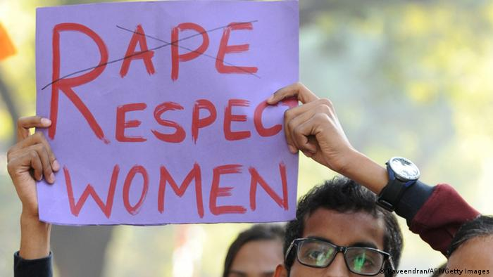 Indian students and teachers shout anti-government and police slogans as they demand the resignation of the Delhi Chief Minister Sheila Dikshit during a protest in New Delhi on December 21, 2012, following the gang-rape of a student. Indian police have arrested the driver and four others of a bus after a student was gang-raped and thrown out of the vehicle, reports said, in an attack that has sparked fresh concern for women's safety in New Delhi. AFP PHOTO/ RAVEENDRAN (Photo credit should read RAVEENDRAN/AFP/Getty Images)