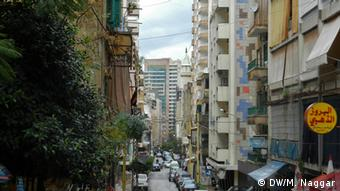 The Hamra district in West Beirut. Foto DW/Mona Naggar