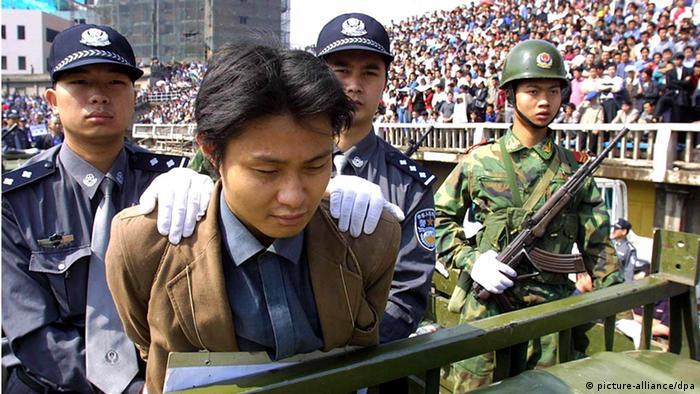 Organhandel China Todesstrafe